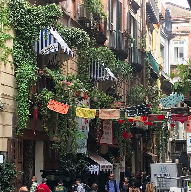 Image of Via Tribunali in Naples